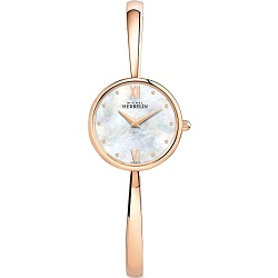 £399 Rose Gold Bagle watch Mother of Pearl Dial