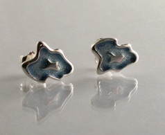 66624 - Sterling Silver Rockpool Stud Earrings