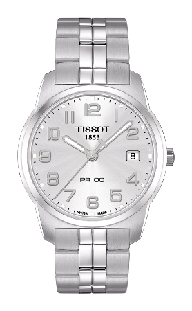 66309 - Tissot PR100 Stainless Steel Bracelet Watch