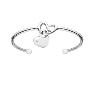 64273 - Hot Diamond Sterling Silver Bangle