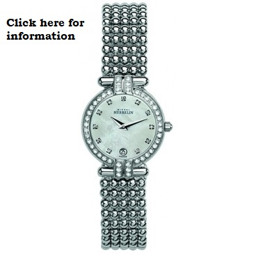 £670 Crystal set quartz watch