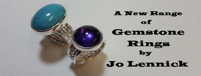 Gemstone Rings by Jo Lennick