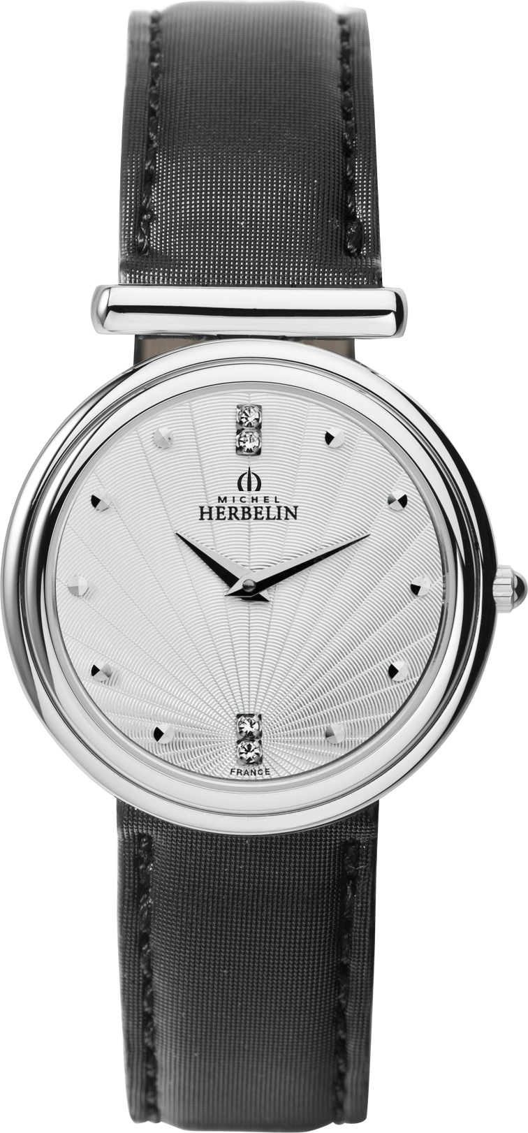 67483 - Michel Herbelin Small sized Slimline Strap Watch