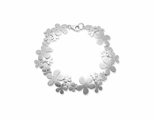 67814 - Flowers Bracelet in Sterling Silver