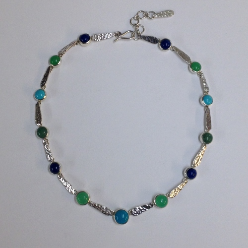 68431 handmade sterling silver necklace set with multi stones 68431 handmade sterling silver necklace set with multi stones aloadofball Choice Image