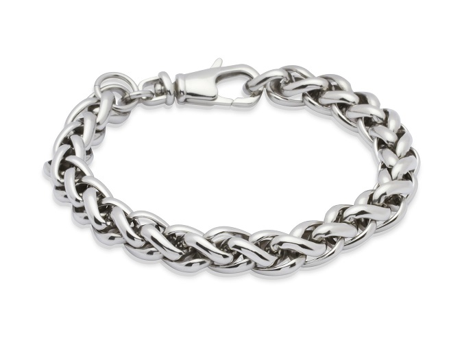 69032 - Stainless Steel Foxtail link bracelet