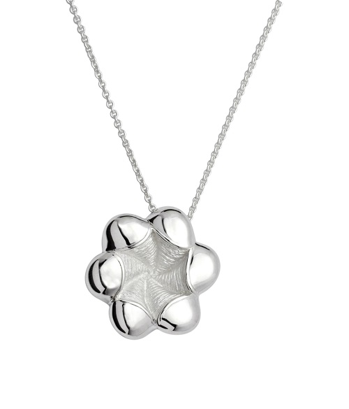 69039 - Flower pendant in Sterling Silver