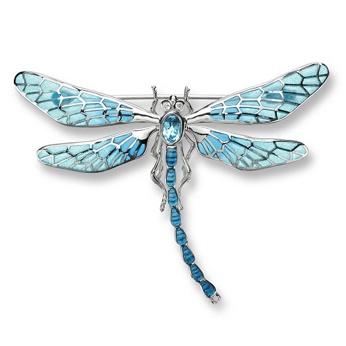 69049 - Dragonfly Brooch in Sterling Silver