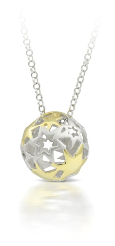60027 - Sphere of Life 'Shining Star' in Sterling Silver