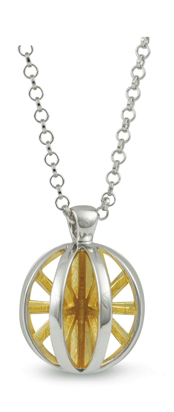 65695 - Sphere of Life 'Good Morning Sunshine' Pendant in Sterling Silver