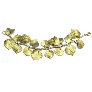 64259 - Quaking Aspen Bracelet in Hand Patinaed Bronze