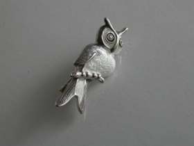 64295 - Wise Owl Brooch