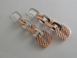 65150 - Rebecca Italian designer drop earrings