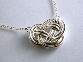65200 - Celtic Knot Pendant in Sterling Silver