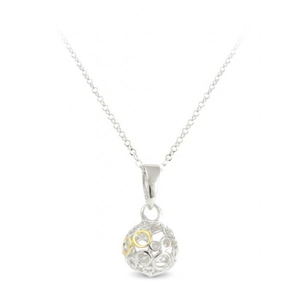 66998 - Sphere of Life Cute 'Eternity Ball' in Sterling Silver
