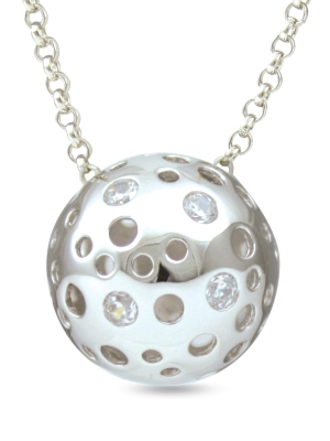67347 - Sphere of Life in Sterling Silver