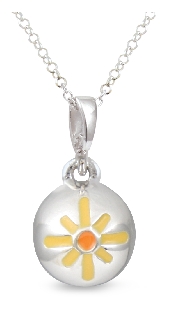67356 - Sphere of Life 'Bring Me Sunshine' pendant in Sterling Silver