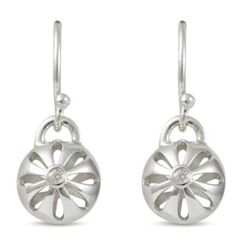 67417 - Sphere of Life 'Blossom' Earrings in Sterling Silver