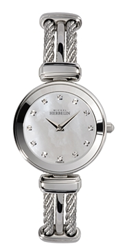 67467 - Michel Herbelin Small sized Slimline Cable Watch