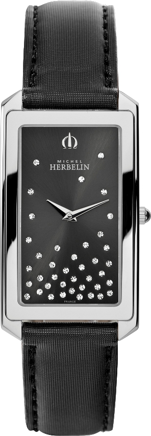 67484 - Michel Herbelin Small sized Slimline Strap Watch