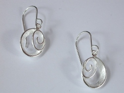 67799 - Sterling Silver Earrings in Sterling Silver