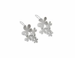 67817 - Sterling Silver Drop Earrings in Sterling Silver
