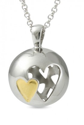 67823 - Sphere of Life 'Together Forever' Pendant in Sterling Silver