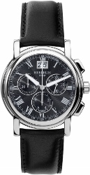 67945 - Michel Herbelin Large sized Chronograph Watch on strap