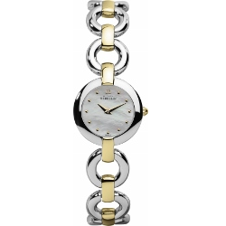 67947 - Michel Herbelin Small sized 2 tone Bracelet Watch