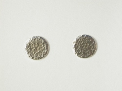 68035 - Handmade Sterling Silver Stud Earrings