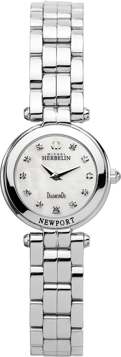68133 - Michel Herbelin Small sized Slimline Strap Watch
