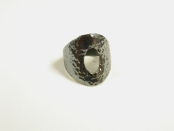 68249 - Handmade Ring in Oxidised Sterling Silver