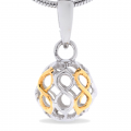 68512 - Sphere of Life Cute 'Infinity' in Sterling Silver