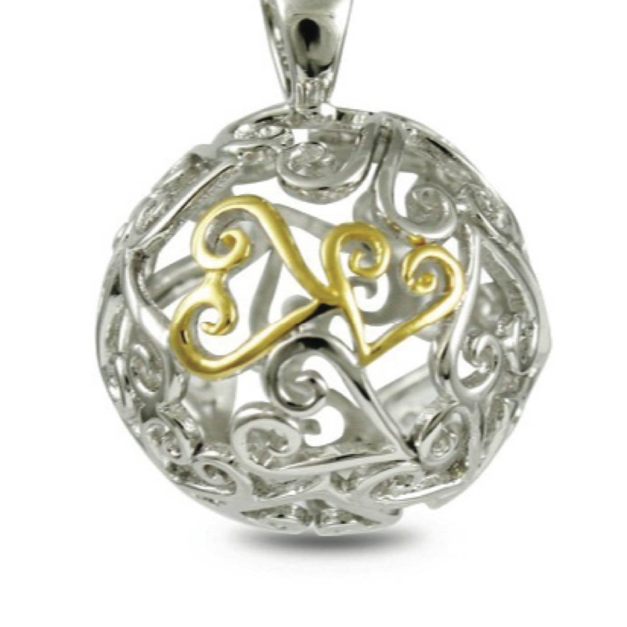 68678 - Sphere of Life 'Supreme' Pendant in Sterling Silver