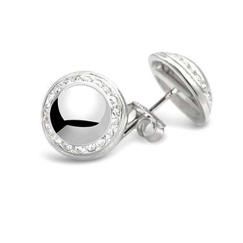 68680 - Sphere of Life 'Milestones' Stud Earrings in Sterling Silver