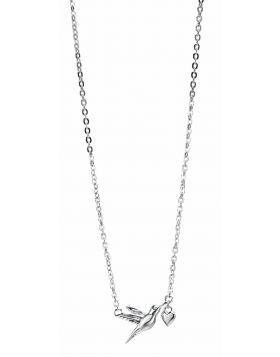 69320 - Sterling Silver Hummingbird Necklace