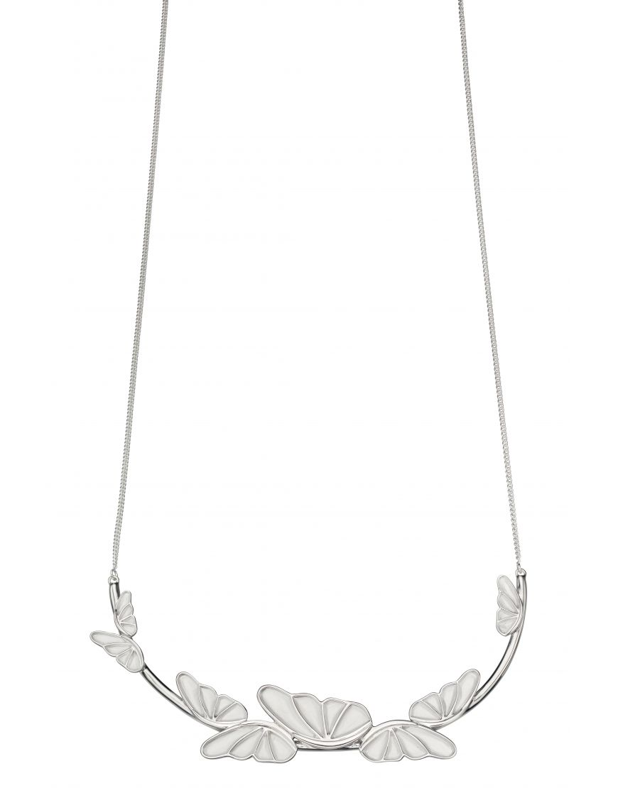 69347 - Sterling Silver Butterfly Necklace