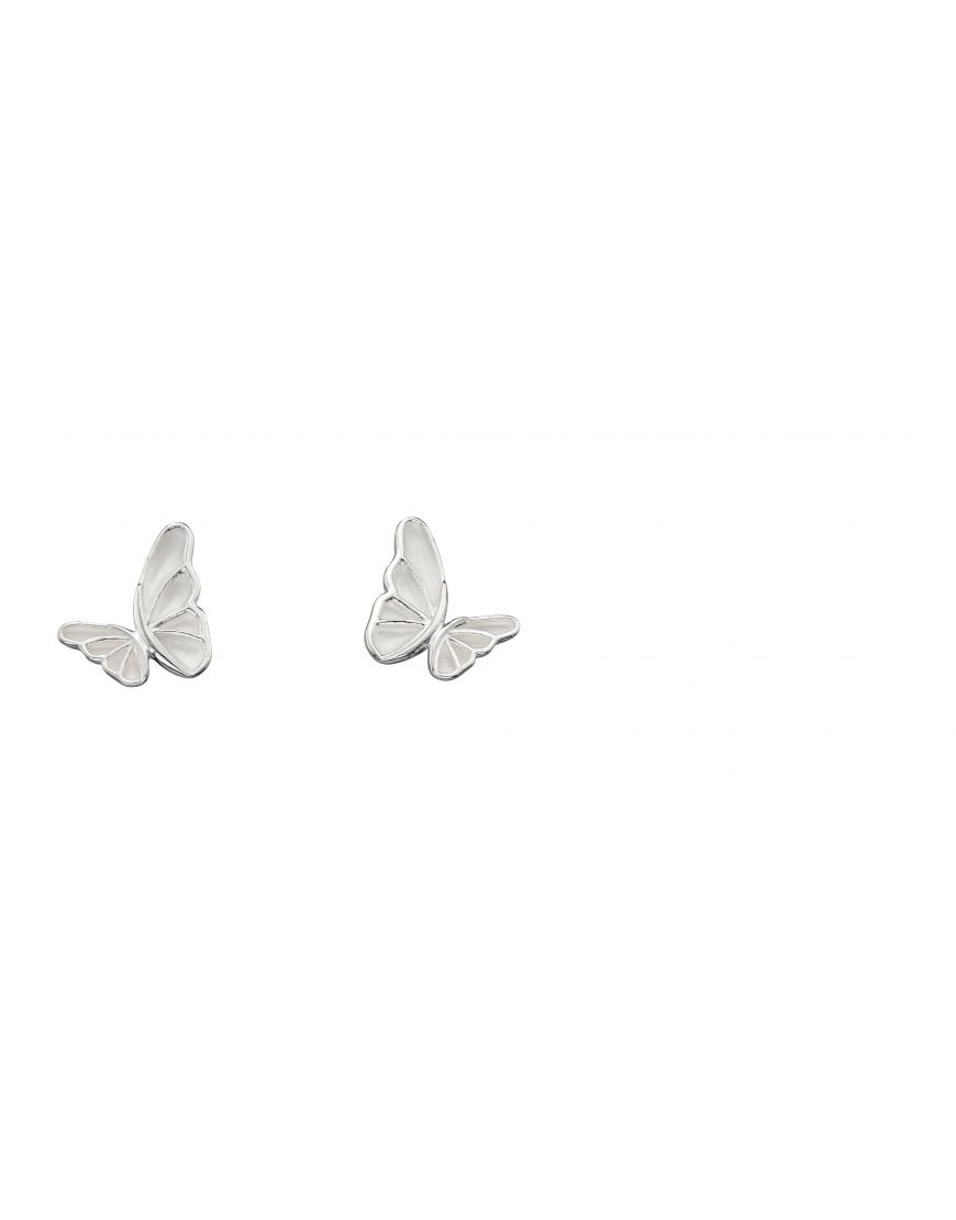 69349 - Butterfly Stud Earrings in Sterling Silver