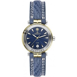 69610 - Michel Herbelin Small sized Newport Strap Watch