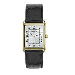 69616 - Michel Herbelin Large sized Slimline Strap Watch