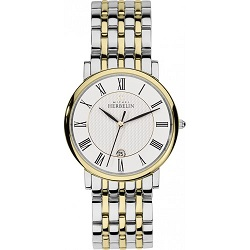 69626 - Michel Herbelin Large sized Slimline Bracelet Watch