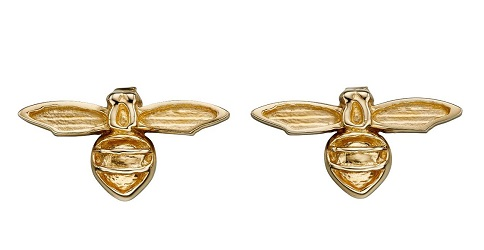 69906 - Bee Stud Earrings in 9ct yellow gold