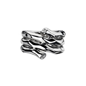 65717 - Hot Diamond Sterling Silver Ring