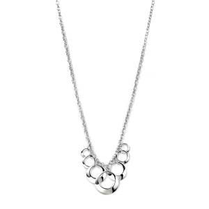 68775 - Disc cluster pendant in Sterling Silver