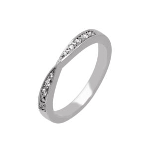 skuPCR1103-R1142 - Diamond Set Wedding Band